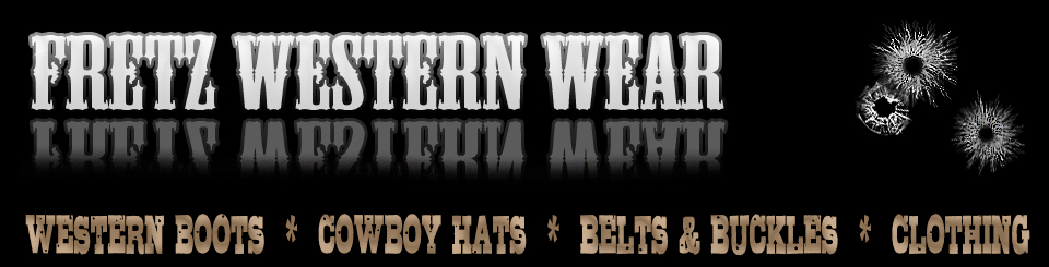 Fretz Western Wear Header